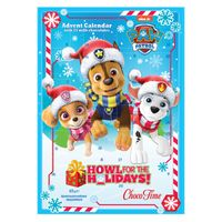 Paw Patrol Adventskalender 2021 mit Milch-Schokotäfelchen - Howl For The Holidays
