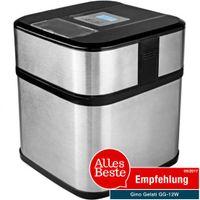 Digitale Edelstahl Eismaschine mit Timer Frozen Yogurt Maschine