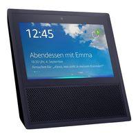 Amazon Echo Show schwarz Smart Home Hub mit Bildschirm