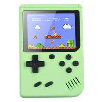 Handheld Retro Spielkonsole Videospielkonsole Gameboy Eingebaute 500 klassische Spiele Kindergeschenke Farbe:Grün