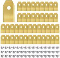 45x Titan Messer Klingen Ersatzmesser Für Gardena Mähroboter Messer Ersatzmesser Husqvarna Automower Mähroboter Ersatzteile Zubehör Rasenroboter Ersatzklingen Gardena Sileno City Messer