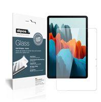2x Samsung Galaxy Tab S7 Schutzfolie - Anti-Shock 9H Folie dipos Glass