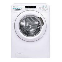 Candy Smart CSWS 4852DWE/1-S Waschtrockner / 8 kg Waschen / 5 kg Trocknen / 1400 U/Min. / Easy Iron – Dampffunktion/Mix Power System/Smarte Bedienung mit NFC-Technologie, weiß, 85x60x53cm