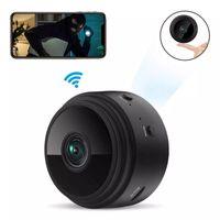 cofi1453® Mini Kamera 1080P Überwachungskamera Aussen WLAN WiFi Home Security Überwachung Wireless schwarz