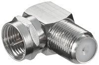 goobay Verbinder F-Stecker auf F-Kupplung 90°Winkel