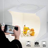 Fotostudio Lichtzelt,Fotolichtbox Tragbares Fotostudio Lichtzelt Schießzelt-Set Faltbares Kleinprodukt Schmuck-Fotokabinen-Set Weißer Soft Cube