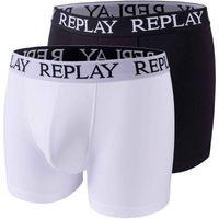 2er Pack Replay Boxer Shorts Herren Unterwäsche Unterhosen Boxershorts