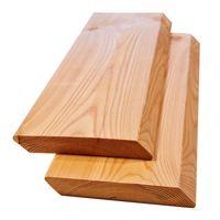 Rhombusleisten Massivholz Sibirische Lärche 2x14x300 cm 5-er Pack