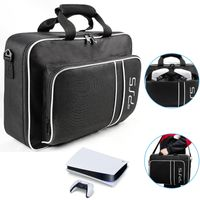 PS5-Tragetasche Aufbewahrungstasche, Schützende Reisetasche für PS5 und Playstation-Controller