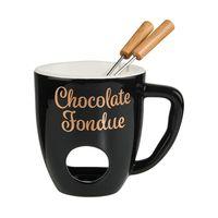 BUTLERS CHOCOLATE FONDUE Tasse mit 2 Gabeln