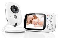 Babyphone mit Kamera Video Babyphone 3,2-Zoll-Babyphone mit Talkback und Temperaturüberwachung Nachtsichtkamera Wiegenlied Nachtsicht-Gegensprechanlage VOX