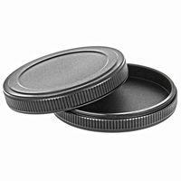Filter-Dec?kel Filter Stack Caps Filterprot?ector Filtercont?ainer Metall für Ø 55mm Filter