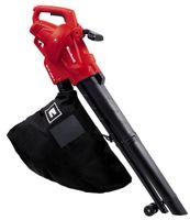 Einhell Elektro-Laubsauger GC-EL 2500 E, Leistung 2500 Watt, Saugleistung max. 650 m³/h, Häckselfunktion 10:1, Fangsack 40 Liter, 3433300