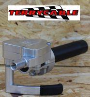 TERRYCABLE Dual Gasser (Drehgas und Daumengas) für Quad / ATV in alu