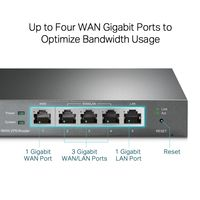 TP-LINK SafeStream TL-R605 - Router - 4-Port-Switch