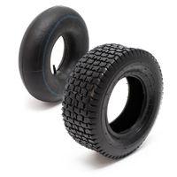 Reifen für den Aufsitzmäher 15x6.00-6 4pr mit Schlauch und geradem Ventil