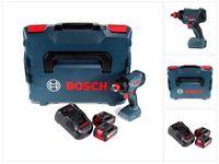 Bosch GDX 18 V-180 18 V Li-Ion Akku Drehschlagschrauber mit 180 Nm mit 2x 5,0 Ah Akku und Lader in L-Boxx