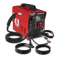 Stamos MIG/MAG Schweißgerät - 155 A - 230 V - tragbar