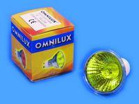 OMNILUX GU-10 230V/50W 1500h 25° gelb