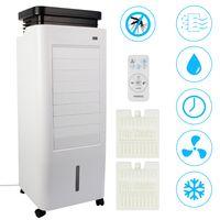 AREBOS 5in1 Aircooler  Luftkühler Luftreiniger Luftbefeuchter Ionisator Ventilator  mit Mückenschutz 5,5L - direkt vom Hersteller