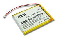 vhbw Li-Polymer Akku 1800mAh (3.7V) passend für MP3-Player Musik Player Cowon iAudio D2 16GB, D2 2GB, D2 4GB, D2 8GB