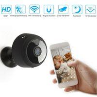1080P WLAN Kamera Überwachungskamera Mini IP Kamera Wireless Kamera Nachtsicht für Innen Garten