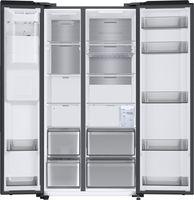 Samsung RS8GWEX Kühl-Gefrier-Kombination Eis Wasser 36dB 178cm Schwarz