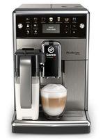 Saeco SM5570/5572/10 Picobaristo Deluxe Vollautomatische Espressomaschine, Kunststoffgehäuse, Integriertes Mahlwerk, Milchaufschäumer, Wasserfilter