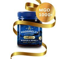 Haddrell's Manuka Honig MGO 1000+ (UMF 22+) in Geschenkbox 250g - Limited Edition
