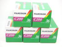 5 x Fuji Color C 200/36 Negativfilme