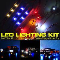 LED Light Für LEGO 42111 Technic Doms Für Dodge Charger Beleuchtung +Battery