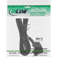 InLine® TAE-F Kabel für DSL-Router, TAE-F Stecker an RJ45 8P2C, 25m