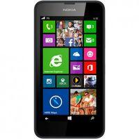 Nokia Lumia 635 Smartphone in Schwarz - Mikro SIM - 4,5 Zoll Touchscreen - 5 Megapixel Kamera - Win 8; 80400