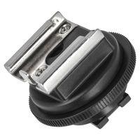 JJC Blitzschuhadapter für Sony Camcorder Active Interface Shoe (AIS) ermöglicht die Anbringung von Zubehör mit Standardaufsteckfuß wie z.B Videoleuchten, Mikrofone oder Monitore