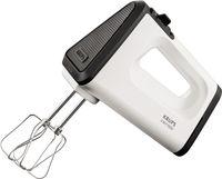 Krups GN 5041 Handmixer 3 Mix 5500 Plus + Stabmixer-Aufsatz weiß/schwarz/ Edelstahl