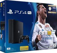 Sony Playstation 4  Pro 1 Terrabyte + Fifa 18