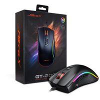 Inter-Tech GT-300+ RGB - rechts - USB - 4000 DPI - Schwarz