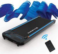 CITYSPORTS Laufband mit elektrischem 440W Motor, einstellbare Geschwindigkeit, Bluetooth-Lautsprecher,LCD-Bildschirm Kalorienzähler, ultradünn und geräuschlos klappbares Laufband für Heim und Büro