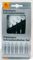 6er Feinmechaniker- Uhrmacher-Set Präzisions-Schraubendreher