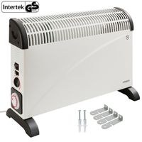 Arebos Konvektor Elektroheizer 2000 W mit Thermostat, Zeitschaltuhr und zuschaltbares Gebläse - direkt vom Hersteller