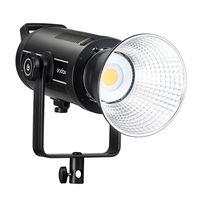 Godox SL150II 150W LED Dauerlicht Videoleuchte 5600K Weiss Licht, CRI 96 TLCI 97 Genaue Farbe, Eingebaute 8 FX-Lichteffekte, 58000lux@1m Kamerablitze