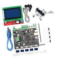3D-Drucker Kit - Smoothieboard 5X V1.1 Open Source Hauptplatine + LCD 12864 Anzeige + GLCD-Adapter 3D-Drucker Platine