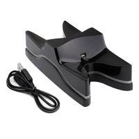 Wireless Controller Ladestation Charging Dock mit USB Kabel und LED für Playstation4