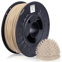 MIDORI® 3D Drucker 1,75mm PLA Filament 1kg Spule Rolle Premium Beige RAL1014