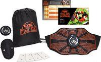Genius Gymform Total Abs EMS-Trainer (10 Teile) Elektro-Muskel-Stimulation Bauchweggürtel Fitnessgürtel; A29185