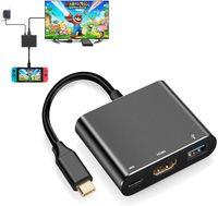 USB-HDMI-Adapter Typ C auf 1080P für Nintendo Switch USB C-Ladeanschluss