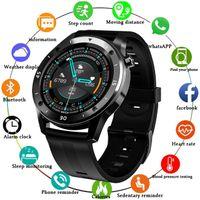 Smartwatch Wasserdichter Fitness-Tracker Herzfrequenz-Blutdruckmessgerät Bluetooth Armbanduhr Armband Smartband Outdoor-Sport Smartwatch für Android IOS