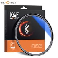 K & F CONCEPT 67 mm ultraflaches, mehrfach beschichtetes MC UV HD-Objektivfilter Kompatibel mit Canon Nikon  DSLR-Kameraobjektiv