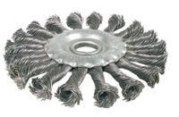 BGS 3986 Scheibenbürste / Zopfrundbürsten, 125 mm Durchmesser