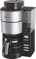 Melitta 1021-01 Aroma Fresh Filterkaffeemaschine mit Mahlwerk, Timer schwarz